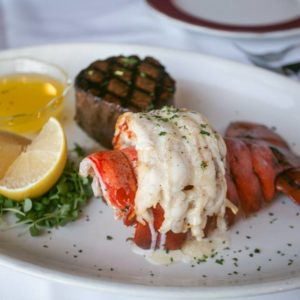 Surf & Turf - Filet and Lobster